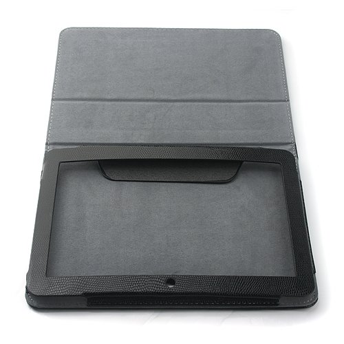 10.1 Inch Leather Stand Case for Ployer momo20 Tablet PC -Black