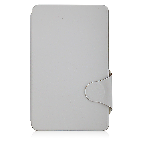 White Leather Cover Case for Freelander PX2 Tablet PC