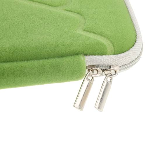 7 Inch Luxurious Flannel Zipper Bag For Tablet PC
