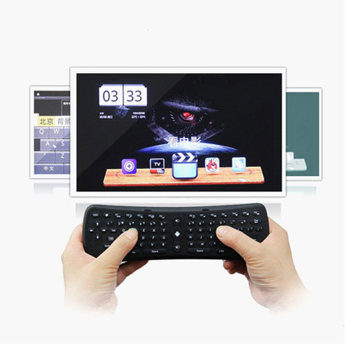Tooploo T3 Portable 2.4GHz Wireless Keyboard Smart Remote Control Air Mouse for PC Android TV