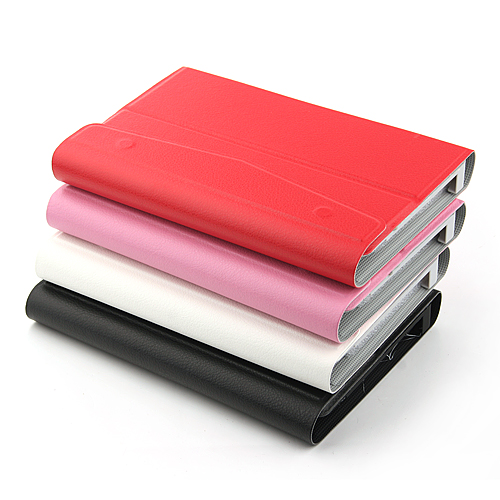Fashional Card Buckle Leather Case For 7 Inch Tablet 4 Colors