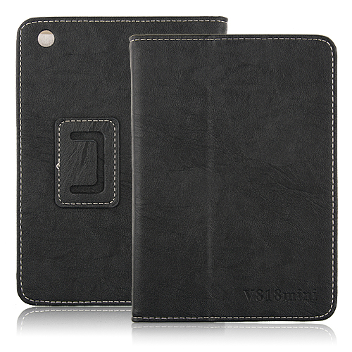 Novel Leather Case For ONDA V818 MINI Tablet Black