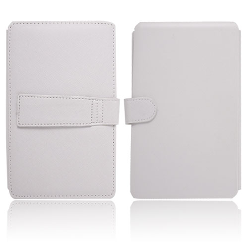 Keyboard Leather Case for 7 inch Tablet PC White