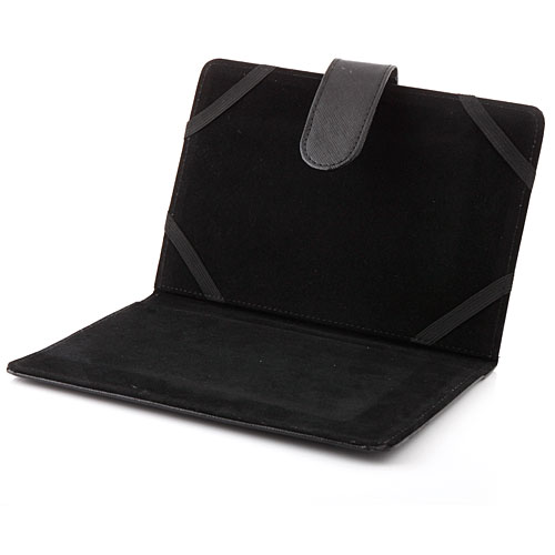 Stand Leather Case for 7 inch Tablet PC Black