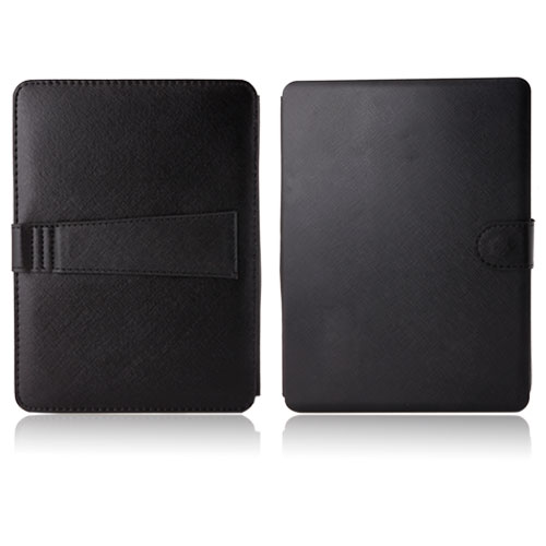 Keyboard Leather Case for 10.1 inch Tablet PC Black