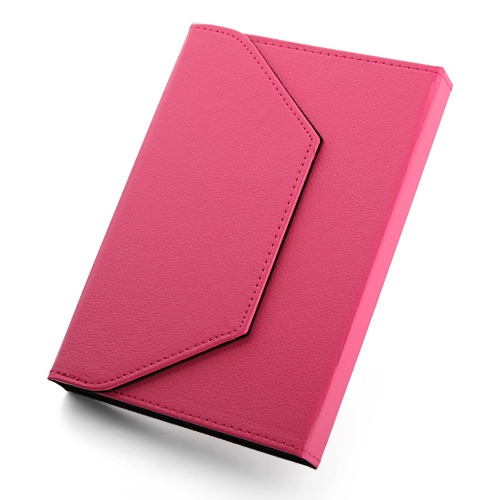 Universal Velcro Closure Protective Stand Leather Case Cover for 7.0-7.85 inch Tablet PC 5 Colors