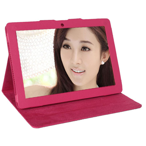 Portable Protective PU Leather Stand Case Cover for Ainol Novo 10 Eternal  2 Color