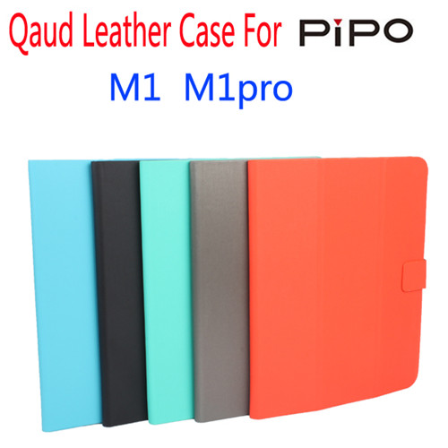 Super Thin Soft Waterproof Quad Leather Case Cover for PIPO M1 M1pro 5 Colors