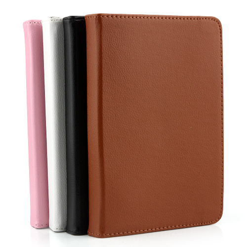 "Universal 7"" Flexible Rotating Stand Leather Cover Case 4 Color"