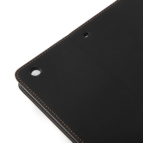 Retro Flip Folding Magnetic Smart Leather Case Cover Stand for iPad Air Black