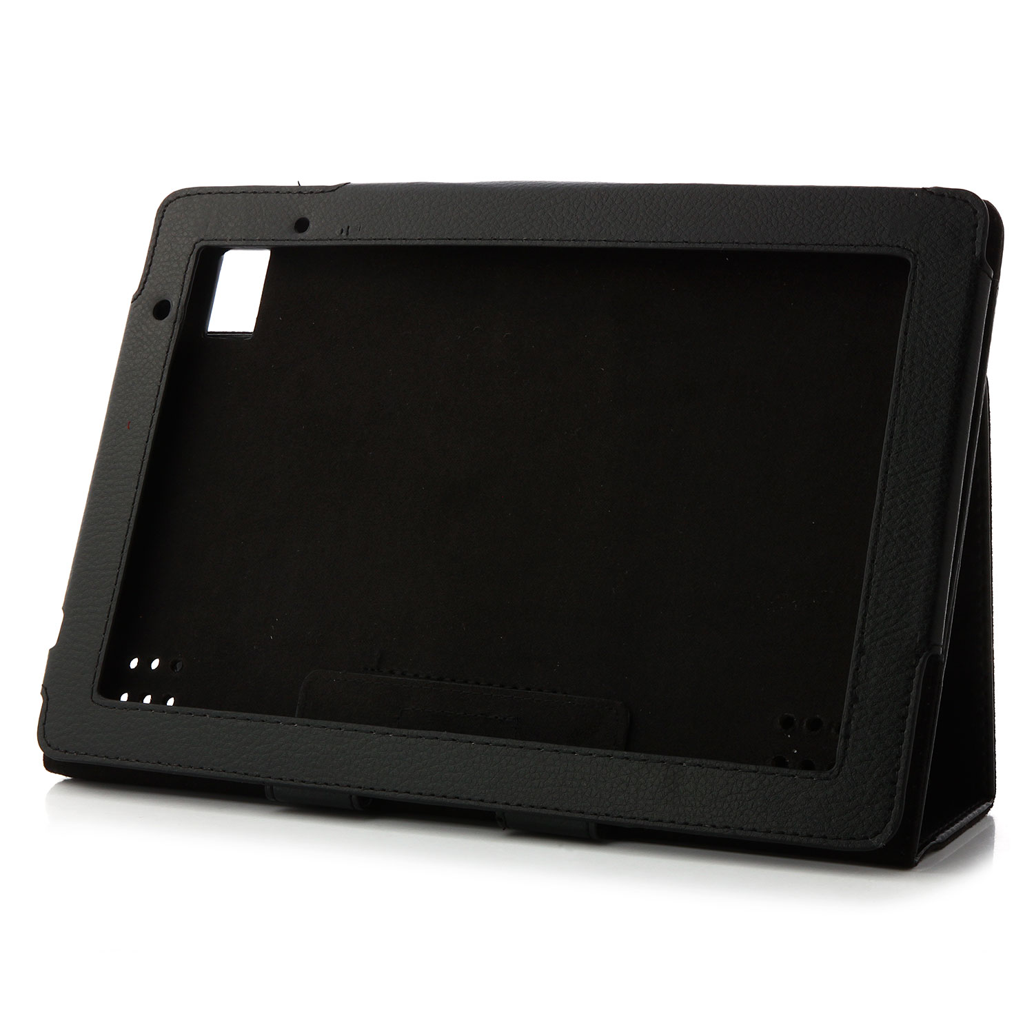 "Original Protective Leather Case Cover For Acer 10"" A500 Tab PU Material Black"