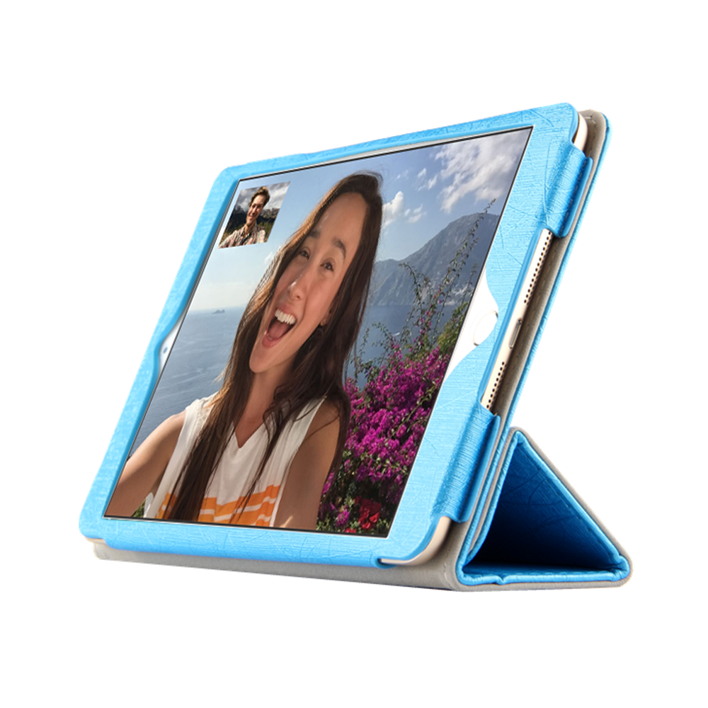 Fashion PU Leather Flip Stand Cases 7.9 Inch Leather Caes for NOKIA N1 Tablet Blue