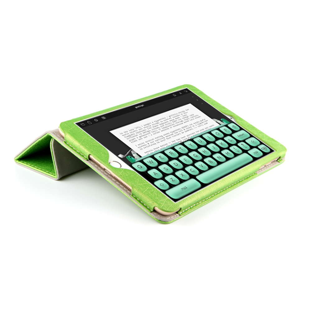 Fashion PU Leather Flip Stand Cases 7.9 Inch Leather Caes for NOKIA N1 Tablet Green