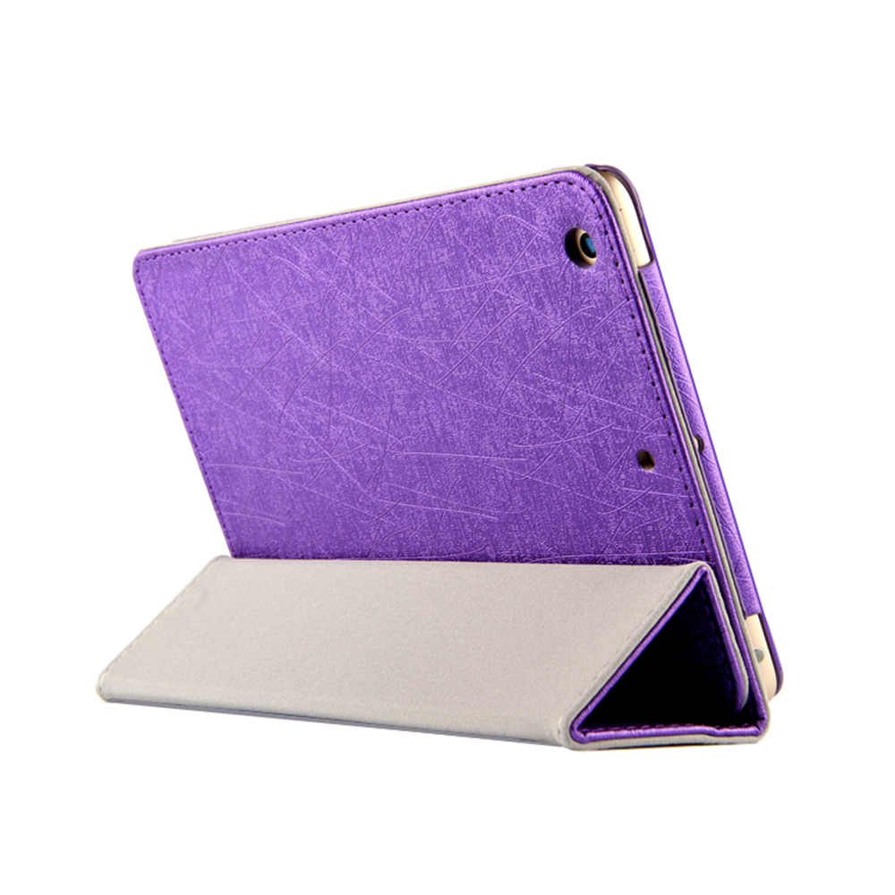 Fashion PU Leather Flip Stand Cases 7.9 Inch Leather Caes for NOKIA N1 Tablet Purple