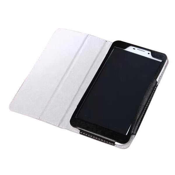 Protective Flip Stand PU Leather Case for ONDA V698 6.98 Inch Tablet PC Black