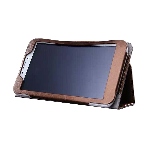 Protective Flip Stand PU Leather Case for ONDA V698 6.98 Inch Tablet PC  Golden
