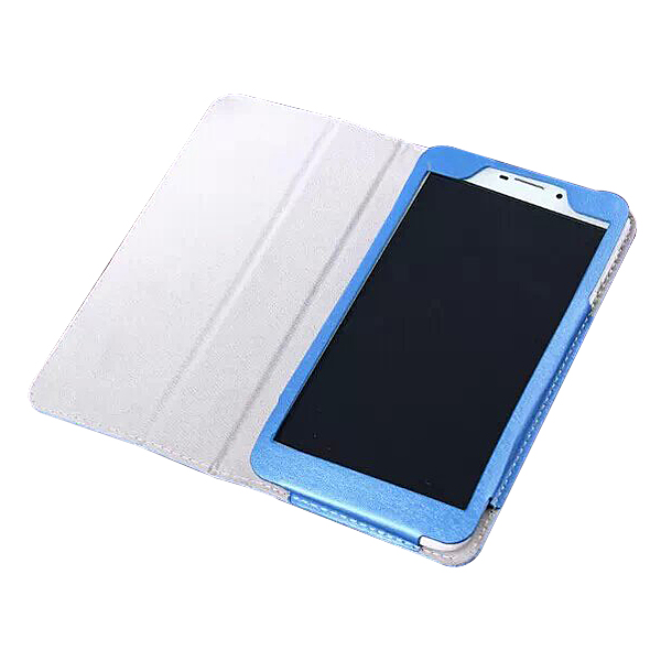 Protective Flip Stand PU Leather Case for ONDA V698 6.98 Inch Tablet PC Blue