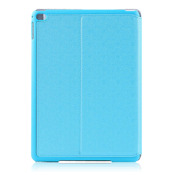 Protective Flip Stand PU Leather Case for 9.7 Inch  Ipad air 2 Tablet PC  Blue
