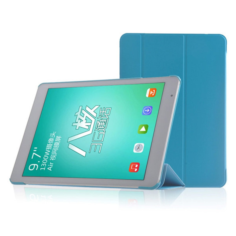 High Quality PU Leather Case for Teclast X98 Air/P98 3G/X98 AIR 3G/X98 AIR 3G II Blue