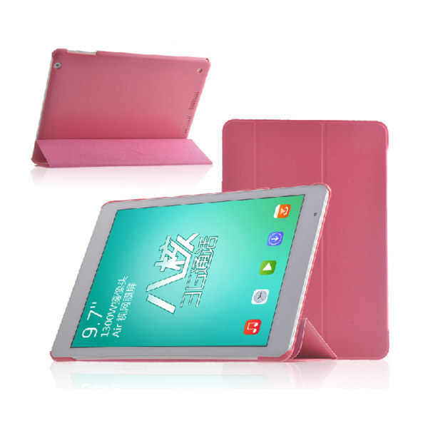 High Quality PU Leather Case for Teclast X98 Air/P98 3G/X98 AIR 3G/X98 AIR 3G II Pink