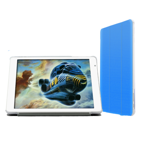 "Removable Ultra-Thin PU Leather Case Cover for 9.7"" Teclast X98 Air II/X98 Air 3G Blue"