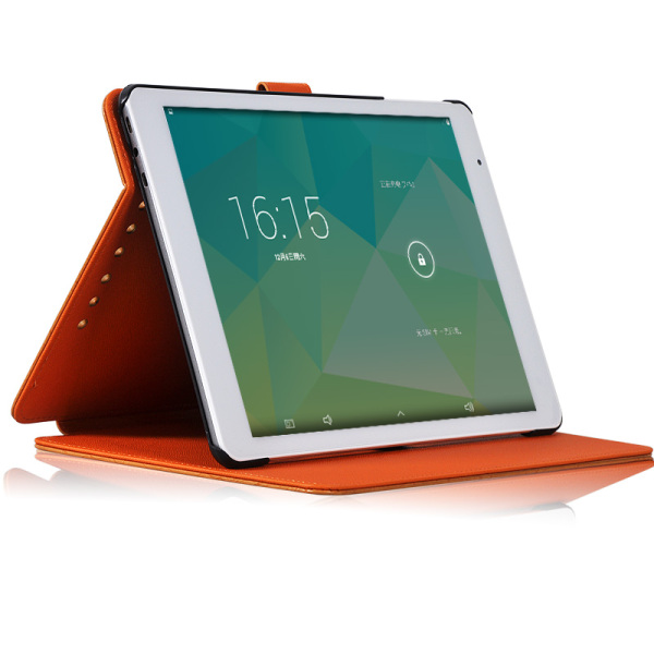 Protective Flip PU leather case for Teclast X98 P98 3G/X98 AIR 3G/X98 AIR 3G II Orange