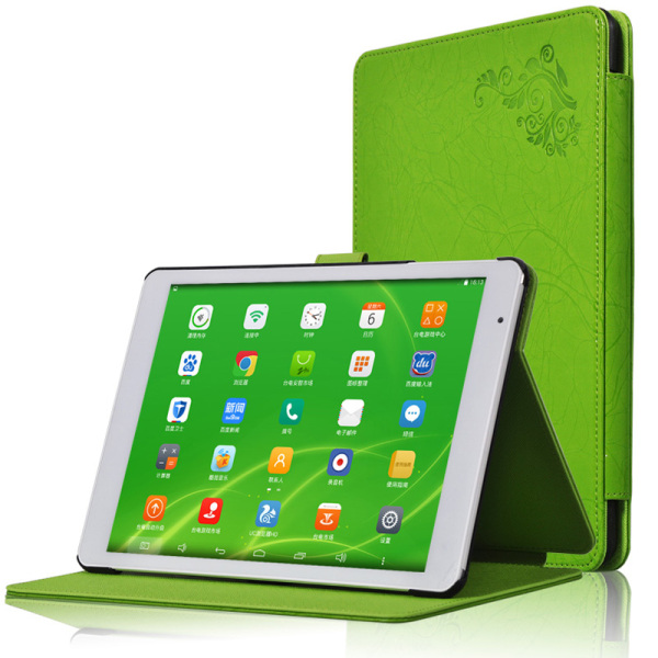 Protective Flip PU leather Case for Teclast X98 P98 3G/X98 AIR 3G/X98 AIR 3G II Green