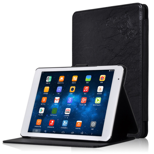 Protective Flip PU leather Case for Teclast X98 P98 3G/X98 AIR 3G/X98 AIR 3G II Black