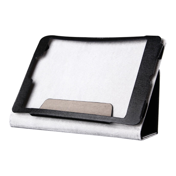 Flip Stand PU Leather Case for CUBE Talk 79 Octa Core 7.9 Inch Tablet PC Black