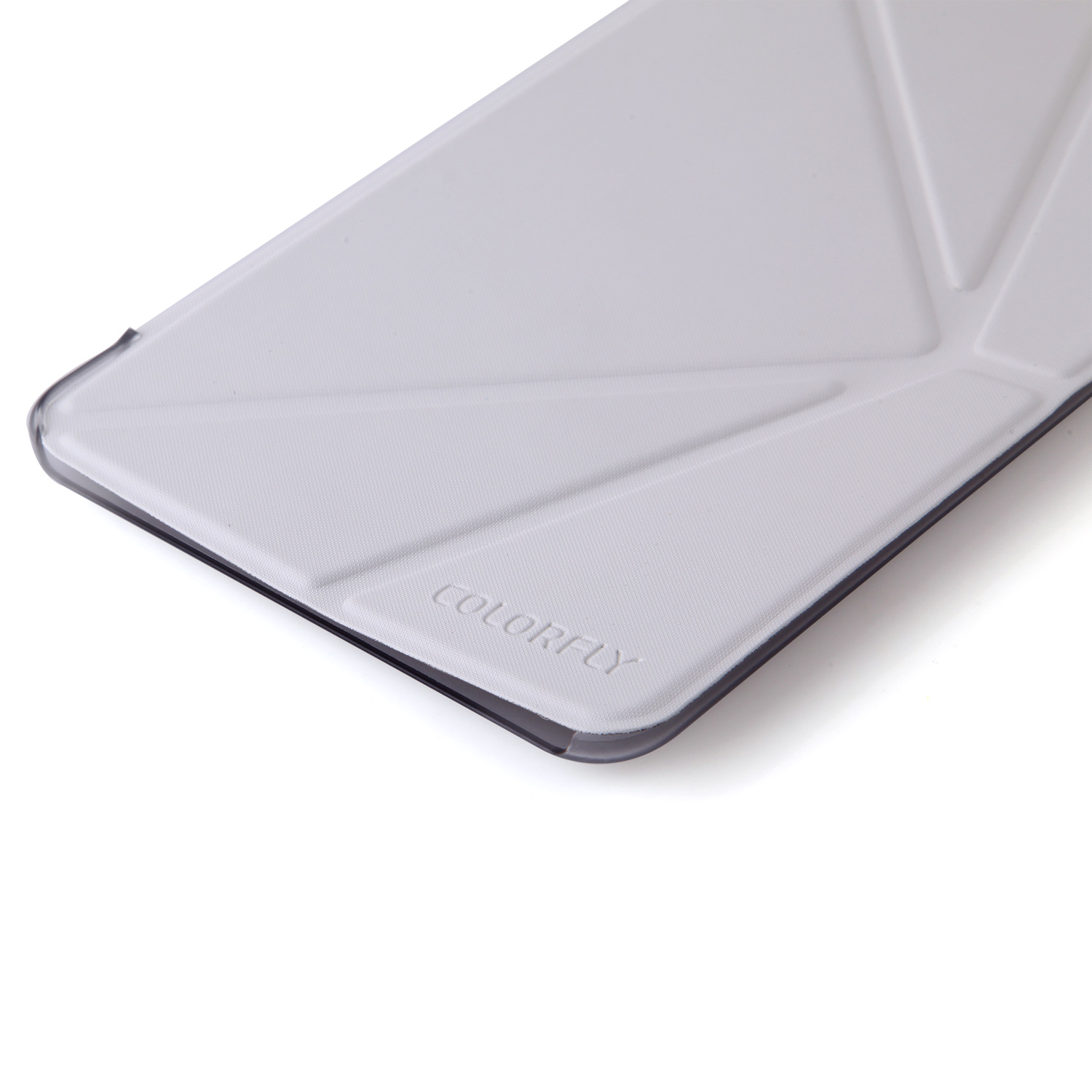 Protective PU Leather Stand Case Cover for Colorfly G808 3G Tablet PC White