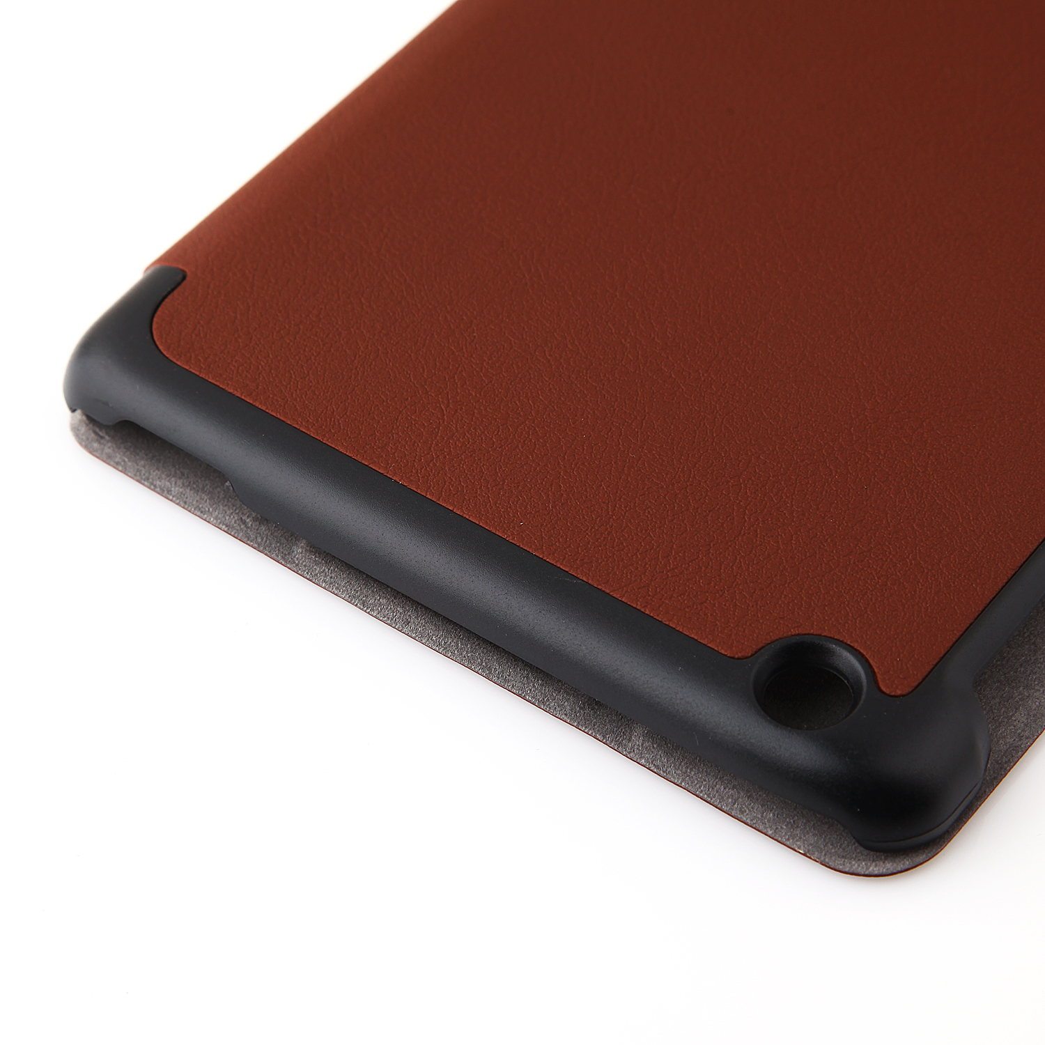 Protective PU Leather Stand Case Cover for Lenovo A8/A5500 Tablet PC Brown