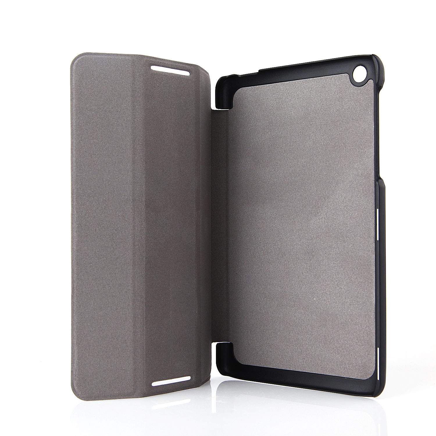 Protective PU Leather Stand Case Cover for Lenovo A8/A5500 Tablet PC Black