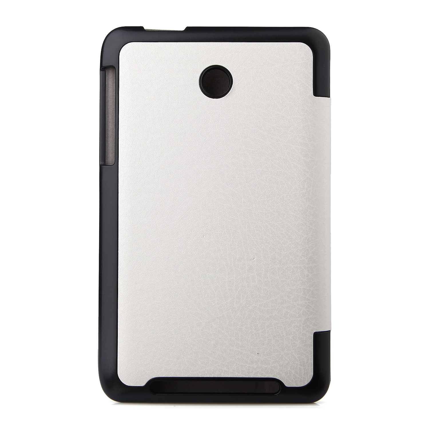 Protective PU Leather Stand Case Cover for Lenovo A3500 Tablet PC KP-69D White