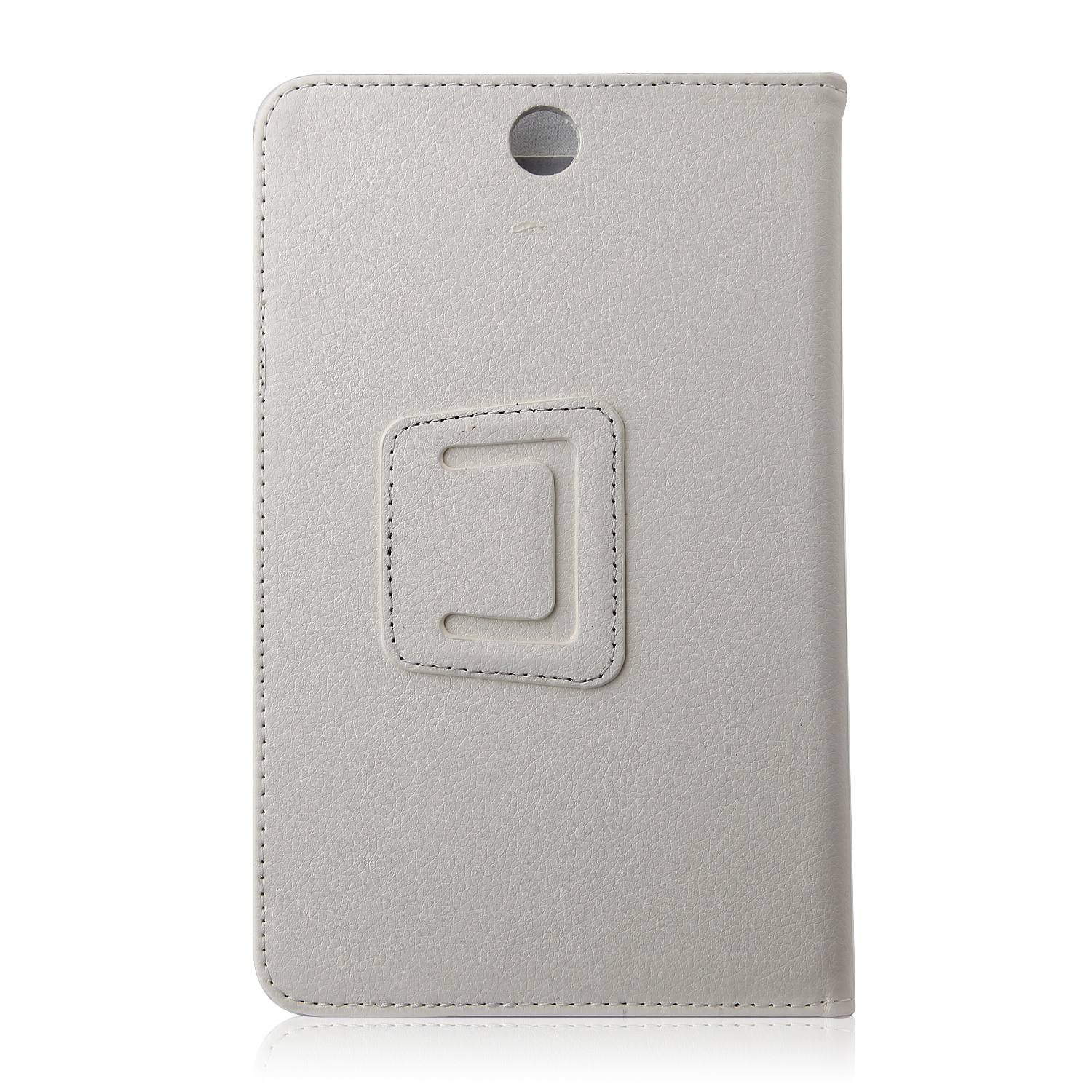 Protective PU Leather Stand Case Cover for Lenovo A3500 Tablet PC White