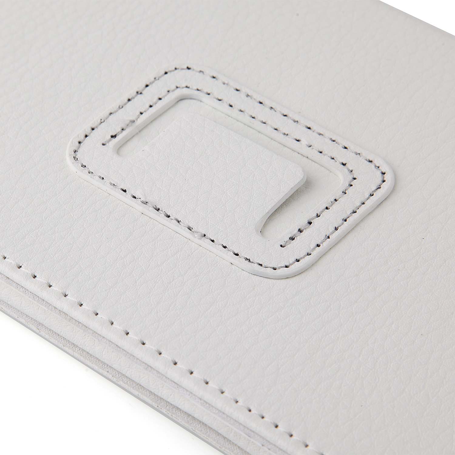 Protective PU Leather Stand Case Cover for Lenovo S5000 Tablet PC White