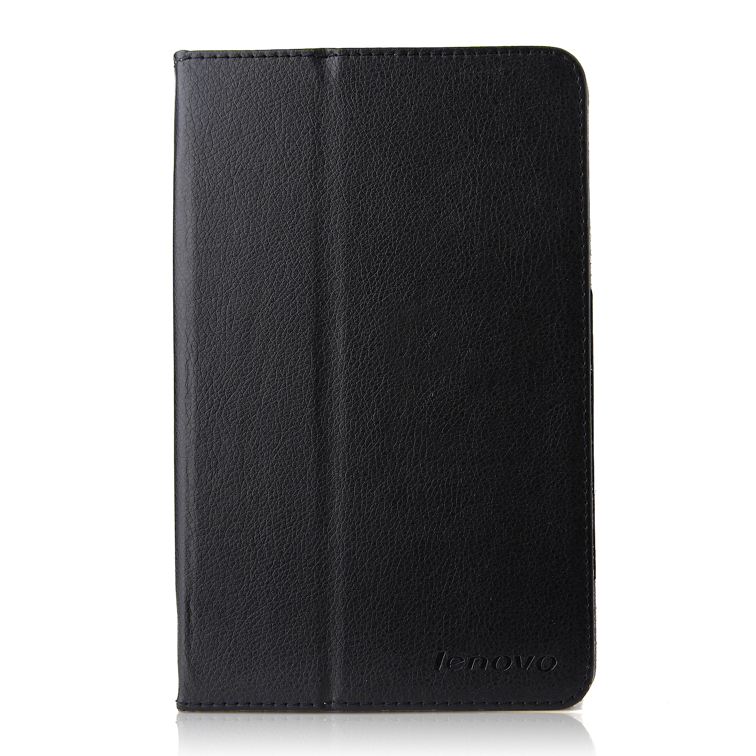 Protective PU Leather Stand Case Cover for Lenovo A5500 Tablet PC Black