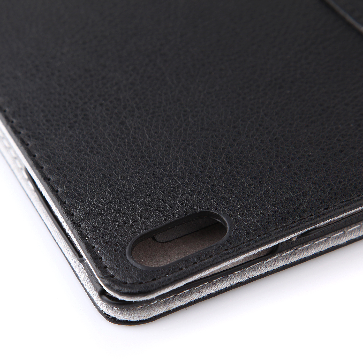 Protective PU Leather Stand Case Cover for Lenovo A7600 Tablet PC Black