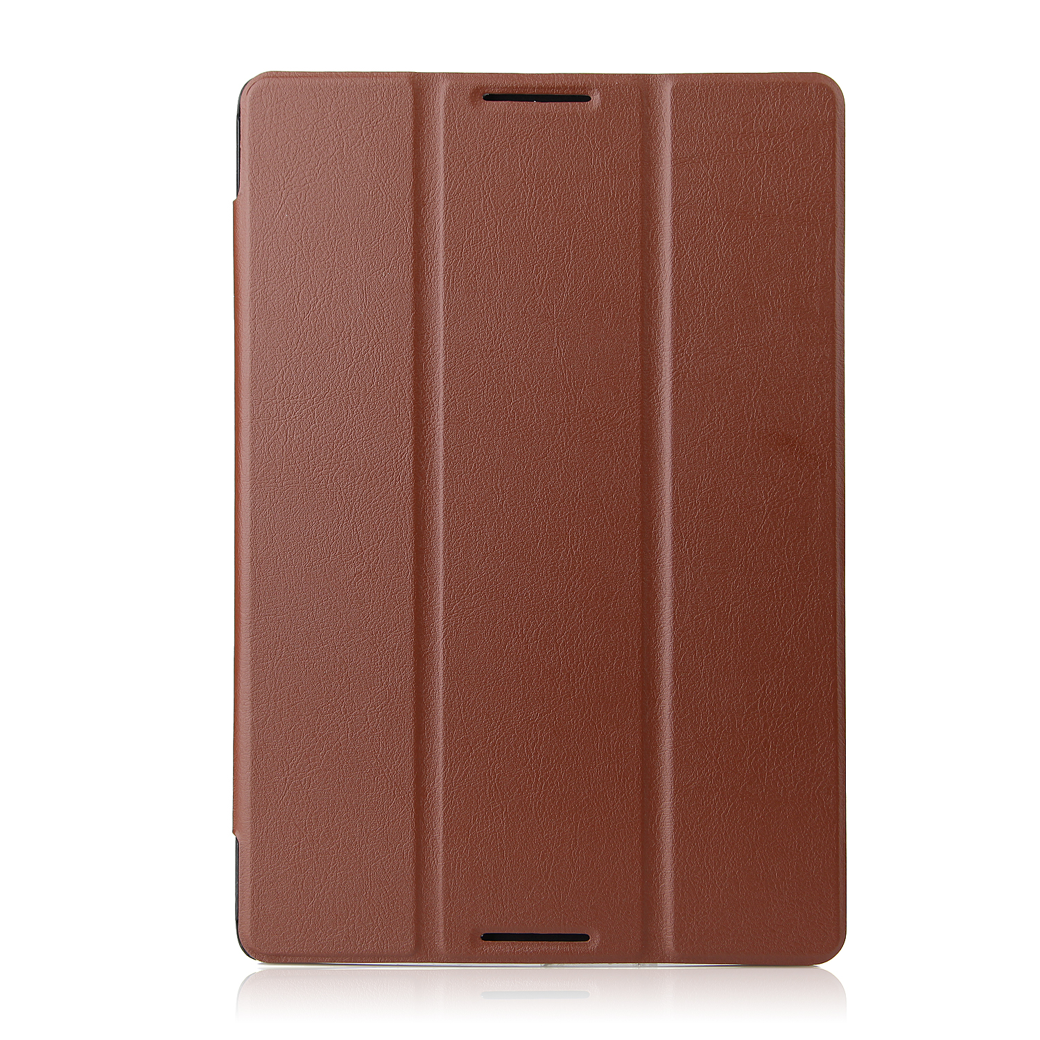 Protective PU Leather Stand Case Cover for Lenovo A7600 Tablet PC Brown