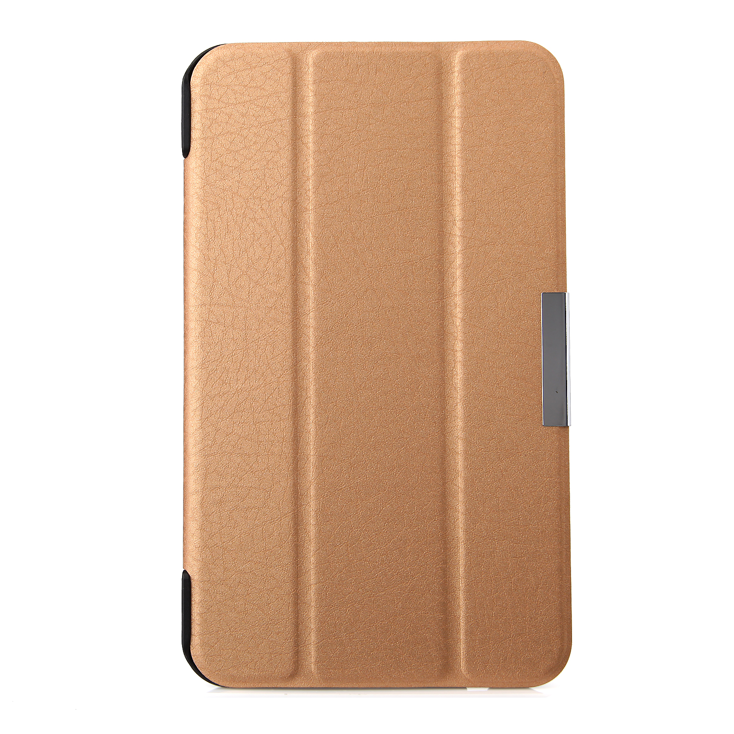 Protective PU Leather Stand Case Cover for FonePad 7 Tablet PC Golden
