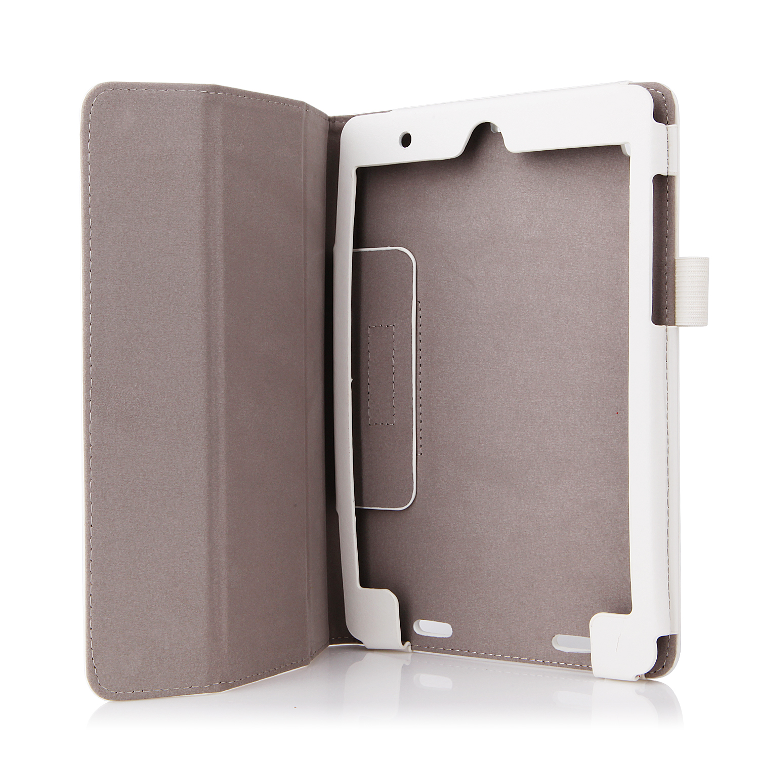 Protective PU Leather Stand Case Cover for the Mi Pad - White