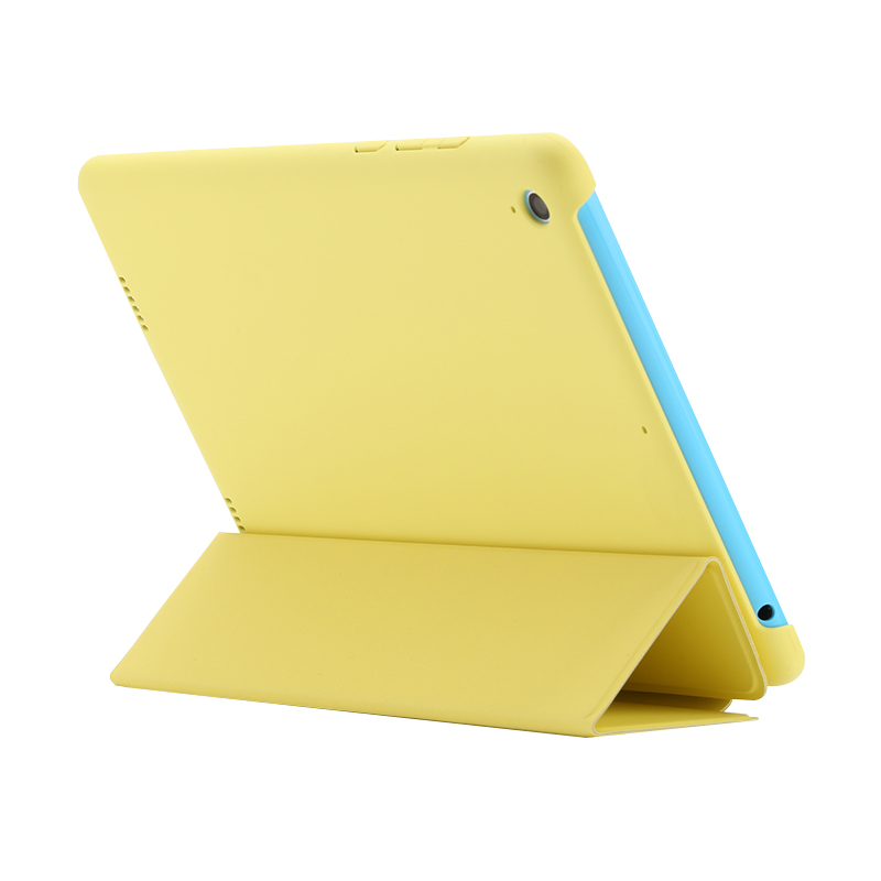 Original Smart Protective Flip Cover Case for XIAOMI Tablet PC Yellow