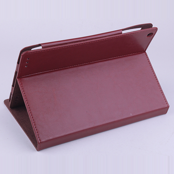 Protective PU Leather Flip Case for ONDA V975W V989 Tablet Brown