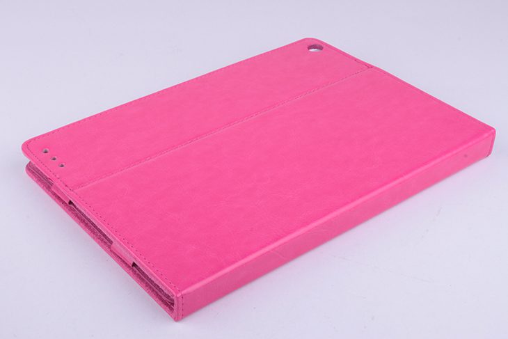 Protective PU Leather Flip Case for ONDA V975W V989 Tablet Rosy