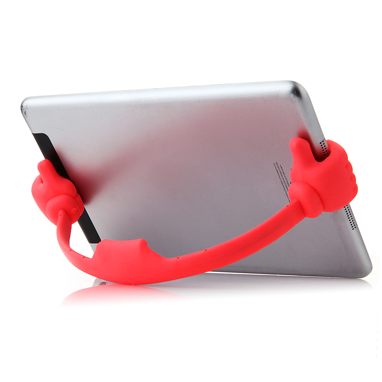 OK Stand Thumb OK Design Stand Holder for Smartphone and Tablet Red