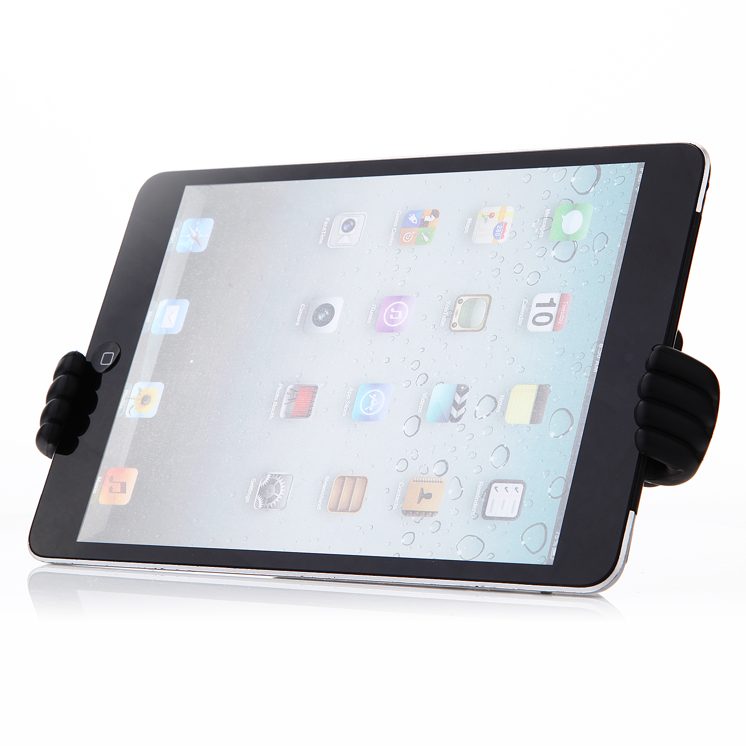 OK Stand Thumb OK Design Stand Holder for Smartphone and Tablet Black