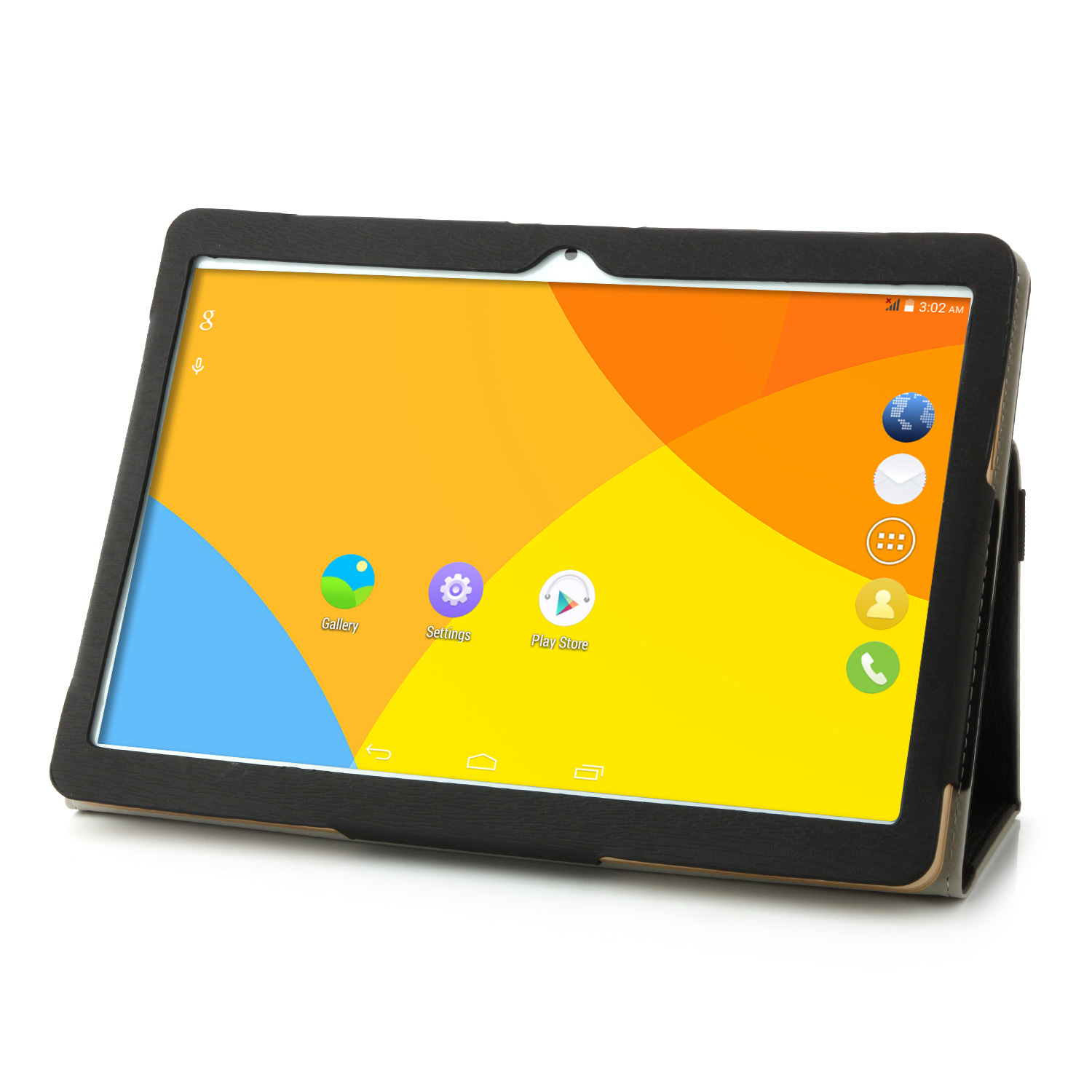 Original Flip Stand Leather Case Cover for VOYO Q901 Tablet PC Black