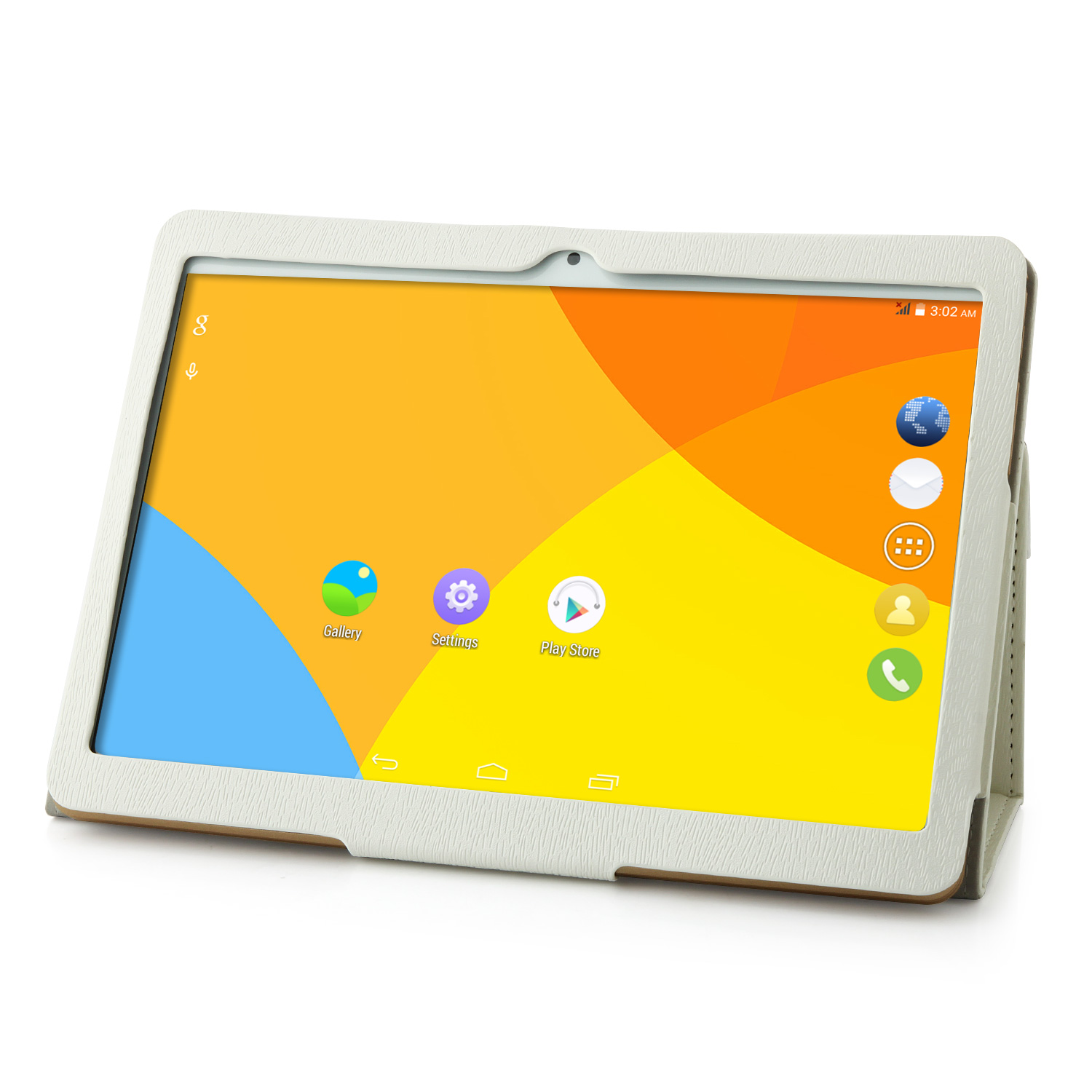 Original Flip Stand Leather Case Cover for VOYO Q901 Tablet PC White