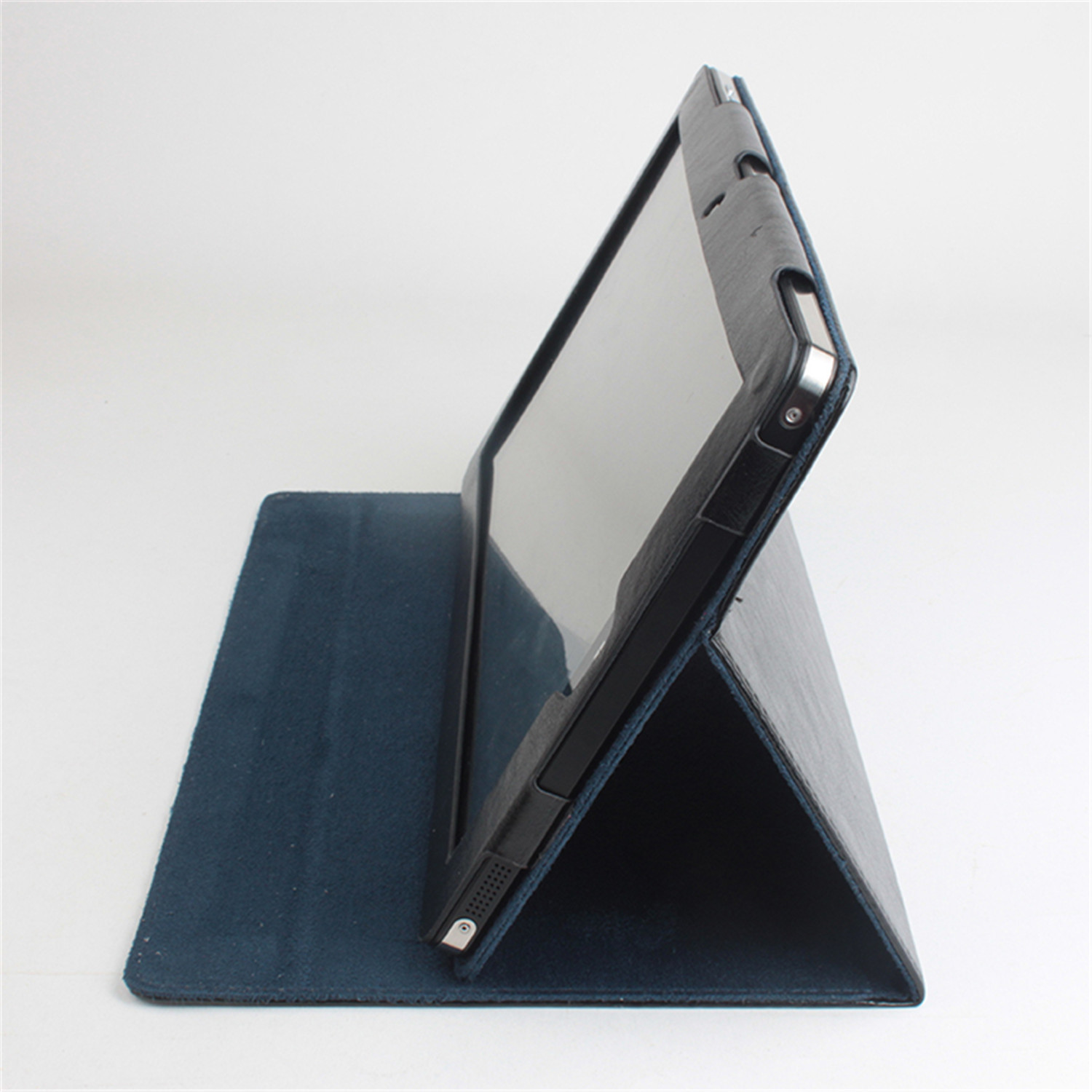 Leather Protective Cover with Stand Function for CHUWI Vi10 Tablet PC Black