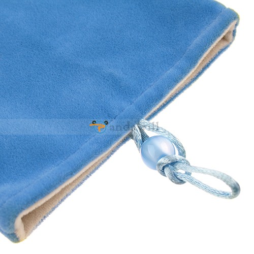 "Velvet Pouch bag sleeve case for 7"" Ebook reader Tablet"