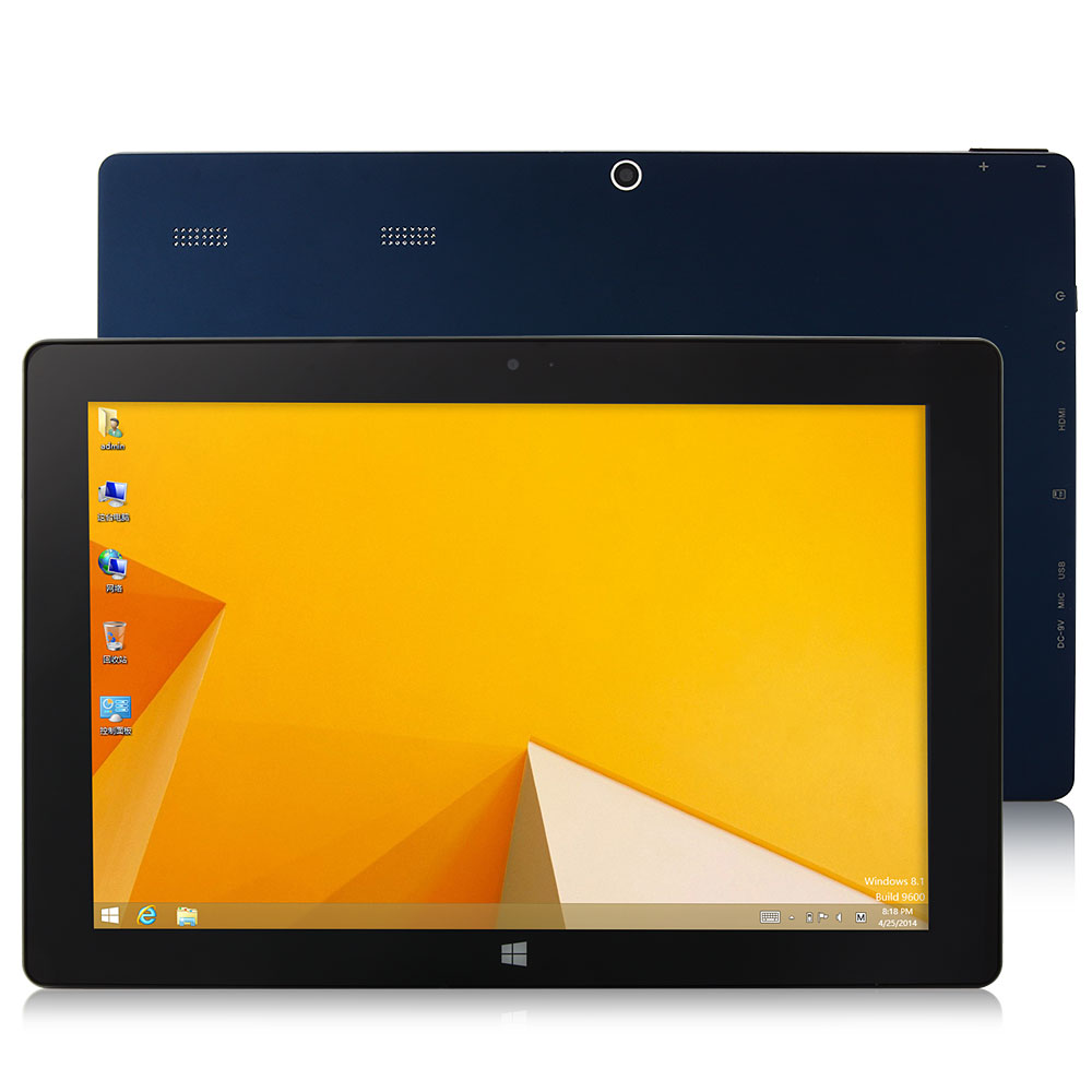 "VOYO A1 Tablet PC Windows 8.1 Intel Z3740D 10.1"" IPS Screen 2GB 32GB Blue"